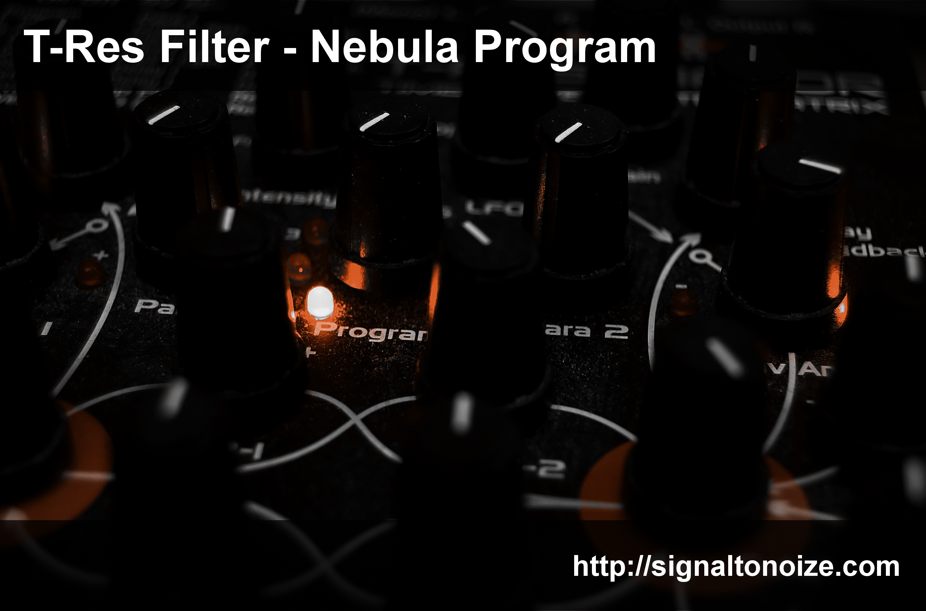 T-Res Filter – Nebula Program